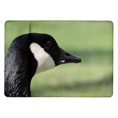 Goose, Black And White Samsung Galaxy Tab 10 1  P7500 Flip Case by picsaspassion