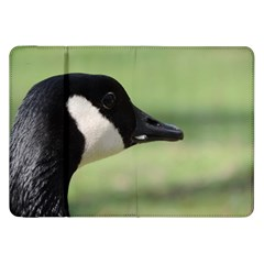 Goose, Black And White Samsung Galaxy Tab 8 9  P7300 Flip Case