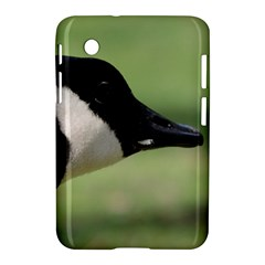 Goose, Black And White Samsung Galaxy Tab 2 (7 ) P3100 Hardshell Case  by picsaspassion