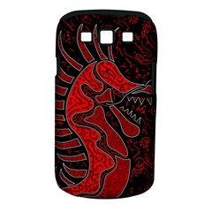 Red Dragon Samsung Galaxy S Iii Classic Hardshell Case (pc+silicone) by Valentinaart