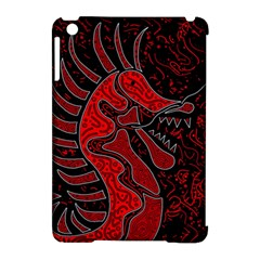 Red Dragon Apple Ipad Mini Hardshell Case (compatible With Smart Cover) by Valentinaart
