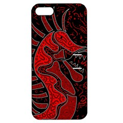 Red Dragon Apple Iphone 5 Hardshell Case With Stand by Valentinaart