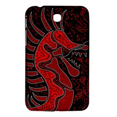 Red Dragon Samsung Galaxy Tab 3 (7 ) P3200 Hardshell Case  by Valentinaart