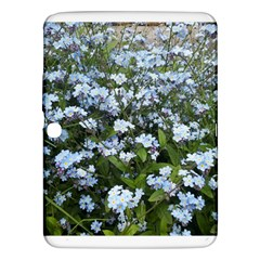 Blue Forget Me Not Flowers Samsung Galaxy Tab 3 (10 1 ) P5200 Hardshell Case  by picsaspassion