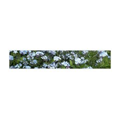 Blue Forget Me Not Flowers Flano Scarf (mini)