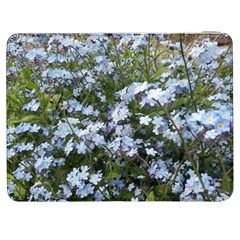 Little Blue Forget Me Not Flowers Samsung Galaxy Tab 7  P1000 Flip Case by picsaspassion