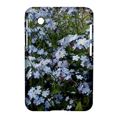 Little Blue Forget Me Not Flowers Samsung Galaxy Tab 2 (7 ) P3100 Hardshell Case  by picsaspassion