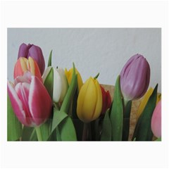 Colorful Bouquet Tulips Collage Prints by picsaspassion