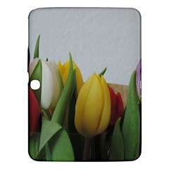 Colorful Bouquet Tulips Samsung Galaxy Tab 3 (10 1 ) P5200 Hardshell Case  by picsaspassion