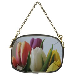 Colored By Tulips Chain Purses (one Side)  by picsaspassion