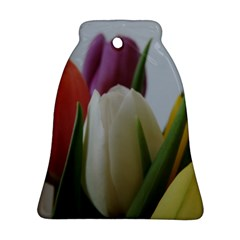 Colored By Tulips Bell Ornament (2 Sides)