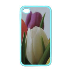 Colored By Tulips Apple Iphone 4 Case (color) by picsaspassion
