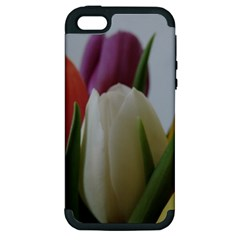 Colored By Tulips Apple Iphone 5 Hardshell Case (pc+silicone) by picsaspassion