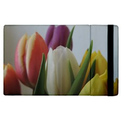 Colored By Tulips Apple Ipad 2 Flip Case by picsaspassion