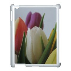 Colored By Tulips Apple Ipad 3/4 Case (white) by picsaspassion
