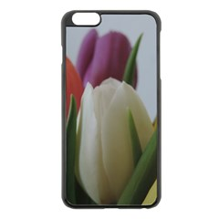 Colored By Tulips Apple Iphone 6 Plus/6s Plus Black Enamel Case by picsaspassion
