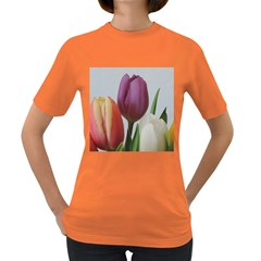 Tulip Spring Flowers Women s Dark T Shirt
