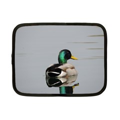 Swimming Duck Netbook Case (small)  by picsaspassion