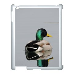 Swimming Duck Apple Ipad 3/4 Case (white) by picsaspassion