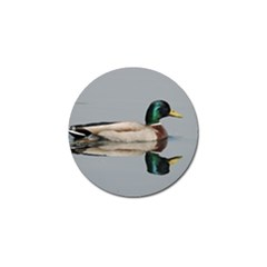 Wild Duck Swimming In Lake Golf Ball Marker (10 Pack) by picsaspassion