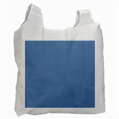 Blue Color Recycle Bag (one Side) by picsaspassion