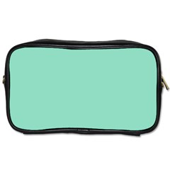 Mint Color Toiletries Bags 2 Side by picsaspassion