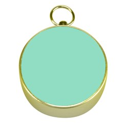 Mint Color Gold Compasses