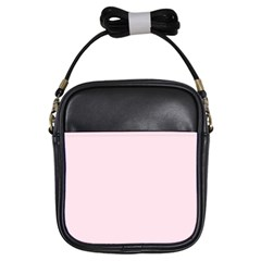 Pink Color Design Girls Sling Bags