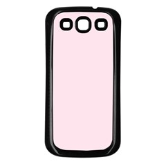 Pink Color Design Samsung Galaxy S3 Back Case (black) by picsaspassion