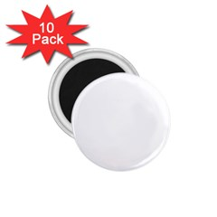 White Color Design 1 75  Magnets (10 Pack)  by picsaspassion
