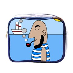 Sailor Mini Toiletries Bags by Valentinaart