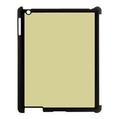Brown Sand Color Design Apple Ipad 3/4 Case (black)