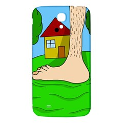 Giant Foot Samsung Galaxy Mega I9200 Hardshell Back Case by Valentinaart
