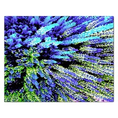 Colorful Floral Art Rectangular Jigsaw Puzzl by yoursparklingshop