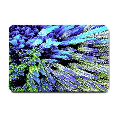 Colorful Floral Art Small Doormat  by yoursparklingshop