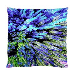 Colorful Floral Art Standard Cushion Case (two Sides)