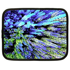 Colorful Floral Art Netbook Case (xxl)  by yoursparklingshop