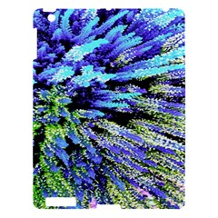 Colorful Floral Art Apple Ipad 3/4 Hardshell Case by yoursparklingshop