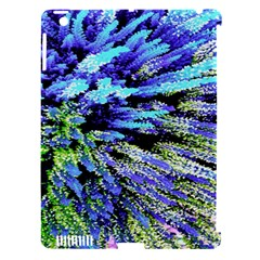 Colorful Floral Art Apple Ipad 3/4 Hardshell Case (compatible With Smart Cover) by yoursparklingshop
