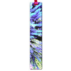 Colorful Floral Art Large Book Marks by yoursparklingshop