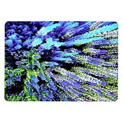 Colorful Floral Art Samsung Galaxy Tab 10 1  P7500 Flip Case by yoursparklingshop