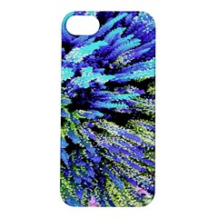 Colorful Floral Art Apple Iphone 5s/ Se Hardshell Case by yoursparklingshop