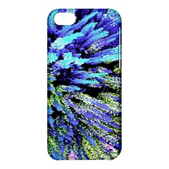 Colorful Floral Art Apple Iphone 5c Hardshell Case by yoursparklingshop