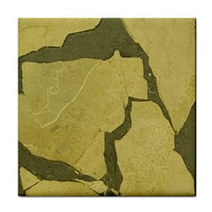 Stylish Gold Stone Tile Coasters by yoursparklingshop