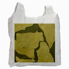 Stylish Gold Stone Recycle Bag (two Side)  by yoursparklingshop