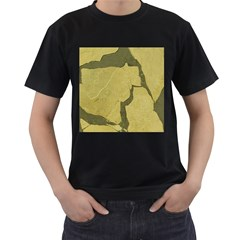 Stylish Gold Stone Men s T Shirt (black)