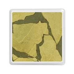 Stylish Gold Stone Memory Card Reader (square)