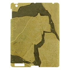 Stylish Gold Stone Apple Ipad 3/4 Hardshell Case