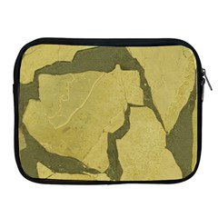 Stylish Gold Stone Apple Ipad 2/3/4 Zipper Cases by yoursparklingshop