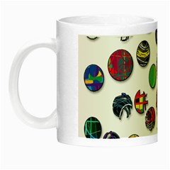 Play With Me Night Luminous Mugs by Valentinaart